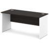стол письменный S-16 белый и дуб честерфилд