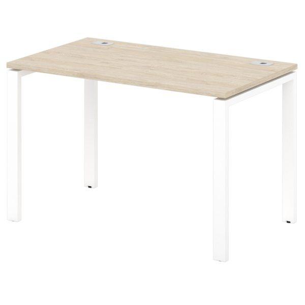 стол письменный на металлокаркасе S-31-555 дуб верцаска светлый