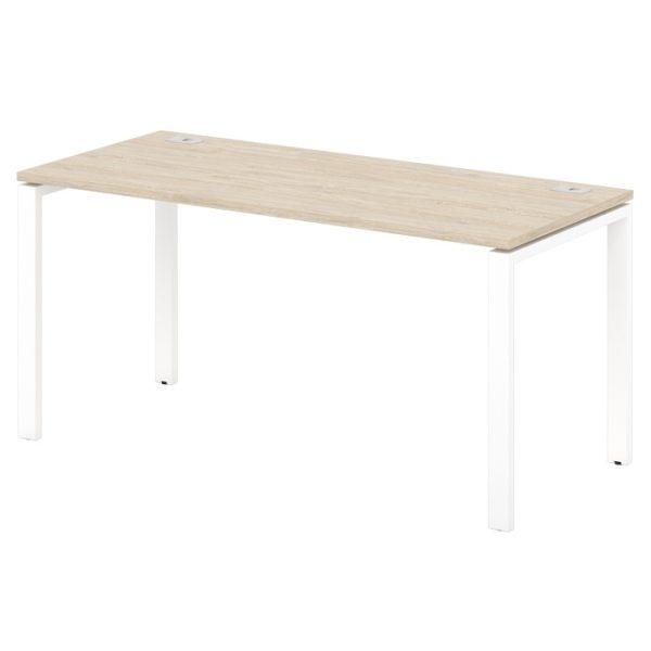 стол письменный на металлокаркасе S-33-555 дуб верцаска светлый