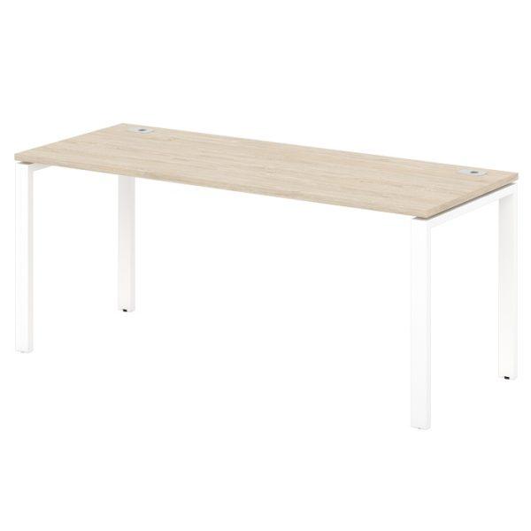 стол письменный на металлокаркасе S-34-555 дуб верцаска светлый