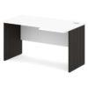 стол письменный S-44 л/пр белый / дуб честерфилд