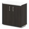 шкаф для документов S-651 дуб честерфилд, белый верх и низ