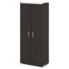 шкаф для одежды S-761 дуб честерфилд, белый верх и низ