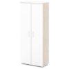 шкаф для одежды S-761 белый, дуб верцаска светлый