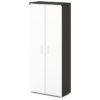 шкаф для одежды S-761 каркас дуб честерфилд, белые дверки