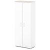 шкаф для одежды S-761 белый, дуб верцаска светлый верх и низ
