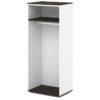 каркас шкафа для одежды S-77 дуб честерфилд и белый