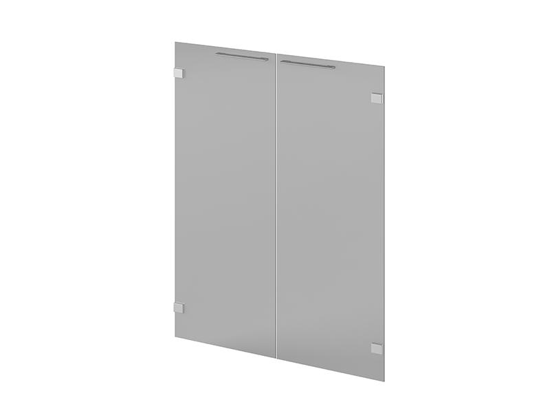 двери низкие стеклянные 418 N-014