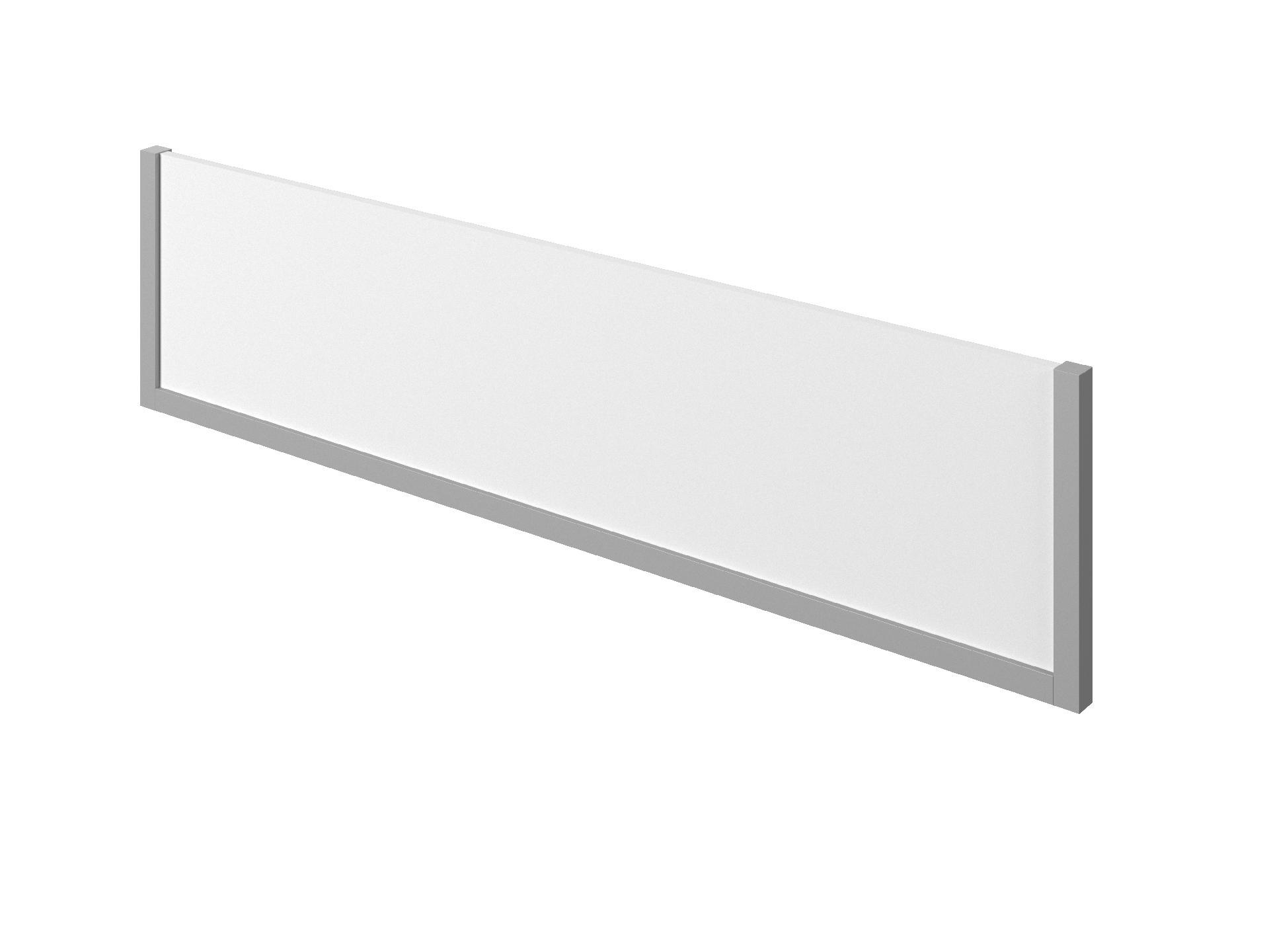 Экран ЛДСП С-057 / С-056 с декоративными элементами