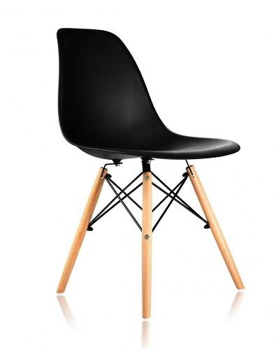 Кресло для посетителей Eames черное