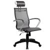 Кресло SkyLine S-2 (K,Pl) с подголовником черный
