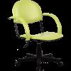 Кресло Metta MP-70 иск. кожа DOLLARO - светло-зеленый перламутр