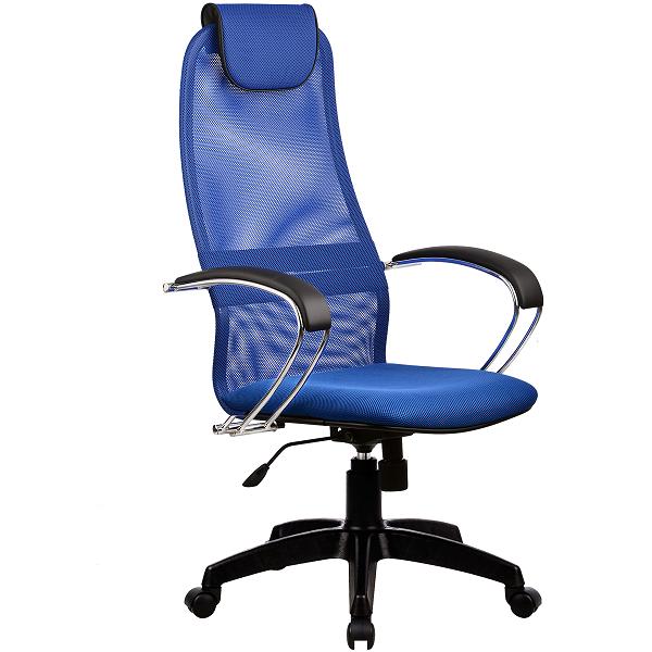 Кресло Metta BK-8 пластик синий