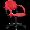 Кресло Metta MP-70 иск. кожа DOLLARO - ярко-красный