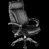 Кресло руководителя Metta LK-13 хром черный