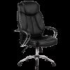 Кресло руководителя Metta LK-12 хром черный