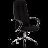 Кресло Metta BK-2 хром ткань черный