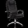 Кресло руководителя Metta LK-11 хром черный
