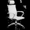 Кресло SkyLine S-2 (C,Ch) с подголовником белый
