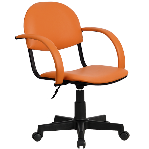 Кресло Metta MP-70 иск. кожа DOLLARO - оранжевый