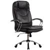 Кресло руководителя Metta LK-11 хром перфорированная эко-кожа черный