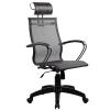 Кресло SkyLine S-2 (B,Pl) с подголовником черный