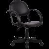 Кресло Metta MP-70 нат. кожа черный без перфорации