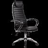 Кресло Metta BC-5 натуральная кожа перфорированная черный