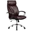 Кресло руководителя Metta LK-13 хром темно-бордовый