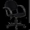 Кресло Metta MP-70 ткань-сетка черный