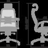 кресло Metta Samurai S-3.03