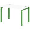 Стол письменный на металлокаркасе S-31 зеленый лайм