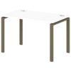 Стол письменный на металлокаркасе S-31 тирамису