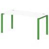 Стол письменный на металлокаркасе S-33 зеленый лайм