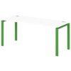 Стол письменный на металлокаркасе S-34 зеленый лайм
