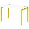 Стол письменный на металлокаркасе S-35 манго