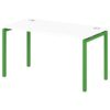 Стол письменный на металлокаркасе S-36 зеленый лайм