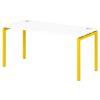 Стол письменный на металлокаркасе S-37 манго