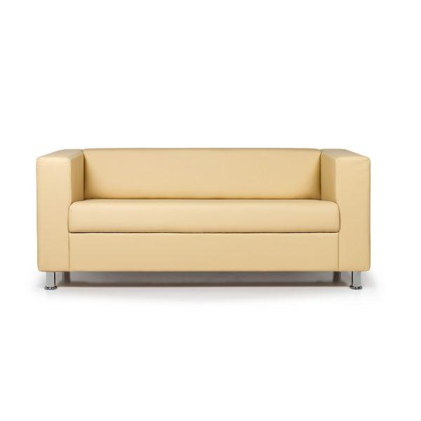 Диван Аполло трехместный диван, ИК Ecotex 3015 (светло-бежевый) (1)