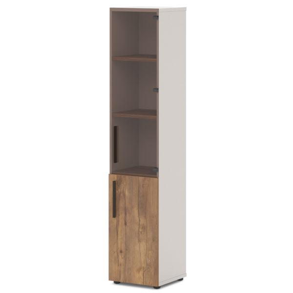 Шкаф T-543 л/пр для документов таксония медовая
