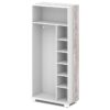 Каркас шкафа для одежды L-72к Белый Альба Маргарита и Бетон Пайн