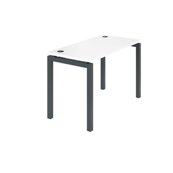Стол на металлокаркасе АМ-002.60 белый