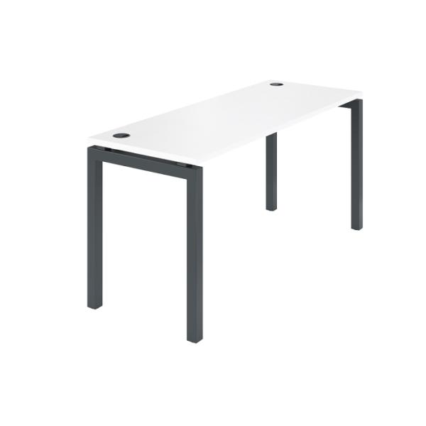 Стол на металлокаркасе АМ-004.60 белый