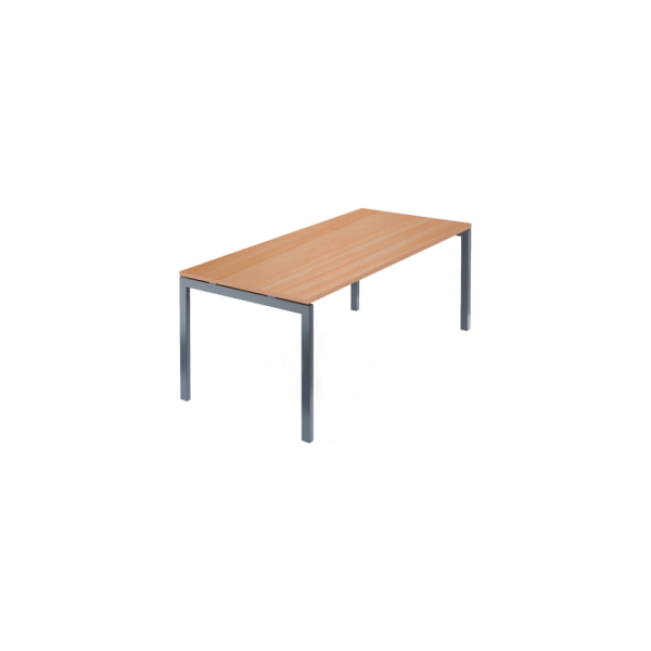 Стол для заседаний на металлокаркасе АМ-0058 груша арозо