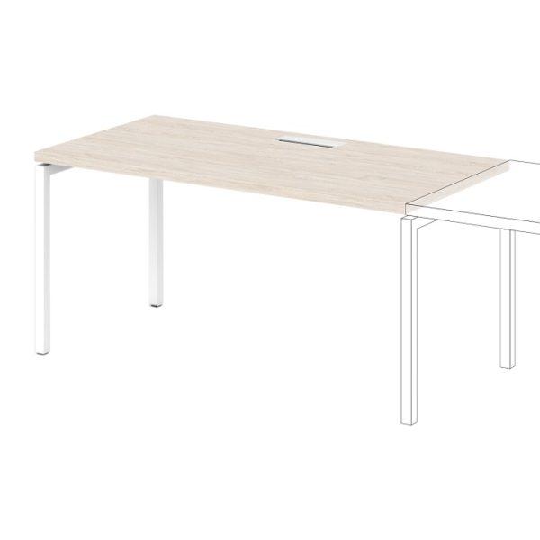 Дополнительное место к одиночному столу S-505 дуб верцаска светлый