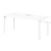 Дополнительное место к одиночному столу S-506 белый