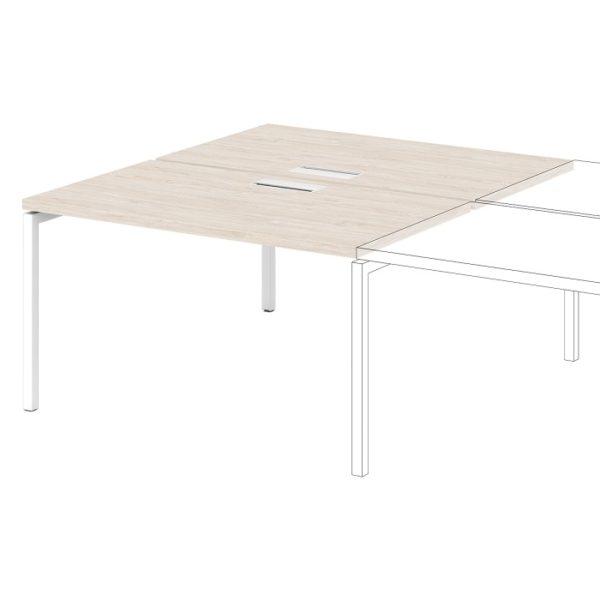 Дополнительная секция к столу-тандему S-524 дуб верцаска светлый