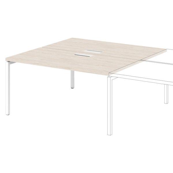 Дополнительная секция к столу-тандему S-525 дуб верцаска светлый