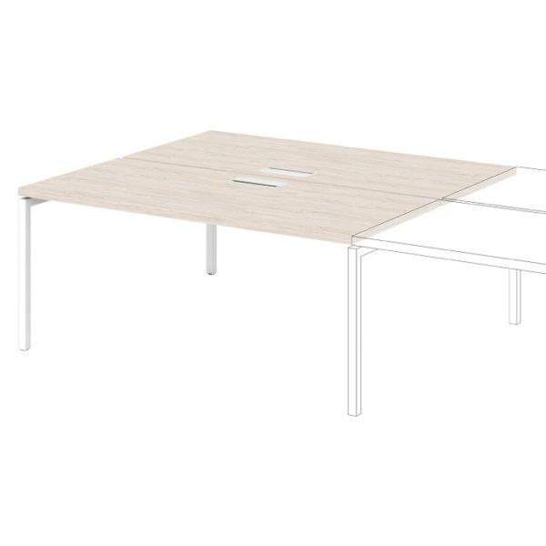 Дополнительная секция к столу-тандему S-526 дуб верцаска светлый