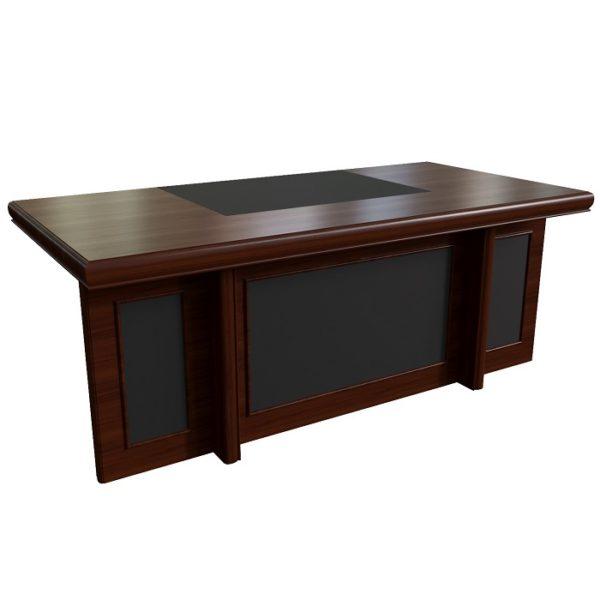 Стол письменный 200 с кожаными вставками Princeton 22101